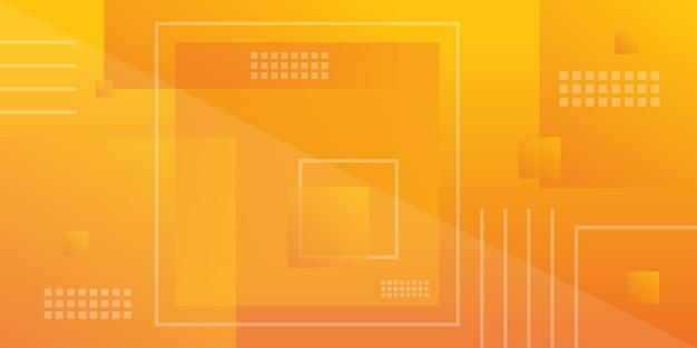 Moderner hintergrund der orange quadratischen steigung