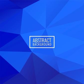 Moderner hintergrund des abstrakten geometrischen polygons