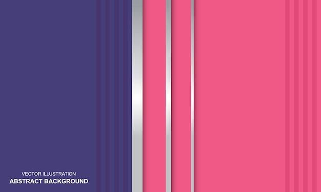 Moderner hintergrund lila und rosa elegant