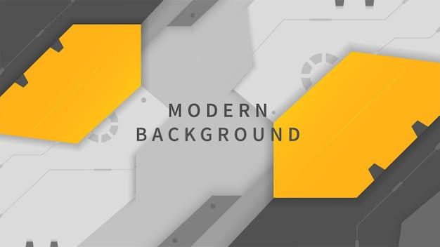Moderner hintergrund mit bunten formen