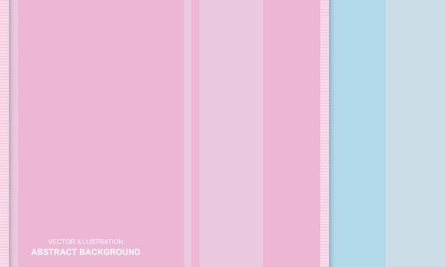 Moderner hintergrund rosa und blaue farbe süß