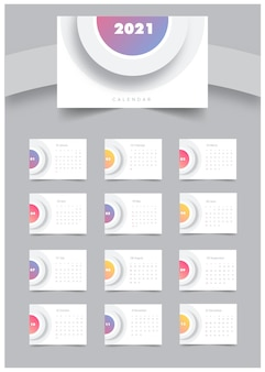 Moderner kalender