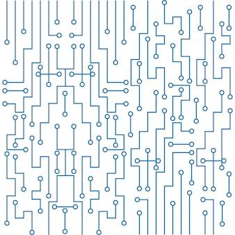 Moderner leiterplattentechnologiehintergrund