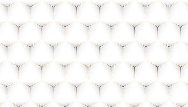 Moderner minimalistischer geometrischer weißer hintergrund
