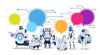 Moderner Robotersatz