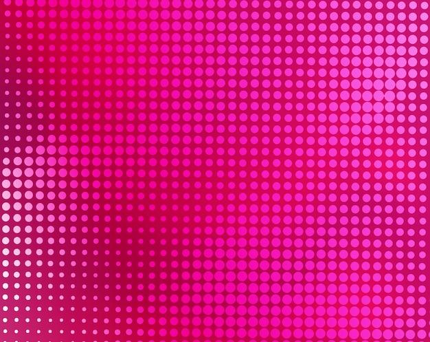 Moderner rosa abstrakter halbtonhintergrund