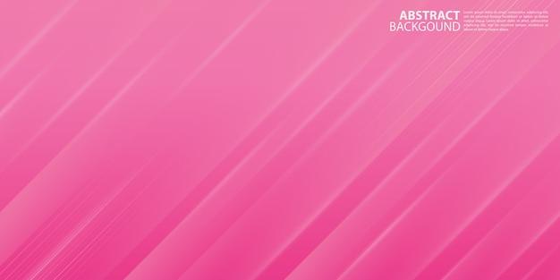Moderner rosa abstrakter hintergrund mit glänzenden linien