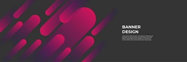 Moderner roter fahnenhintergrund. vektor abstrakte grafik-design-banner-muster-hintergrund-vorlage.