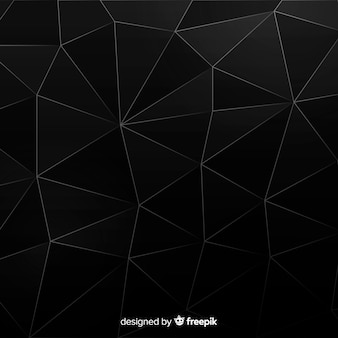 Moderner schwarzer abstrakter hintergrund mit formen