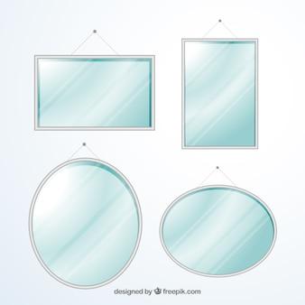 Moderner spiegelsammlung