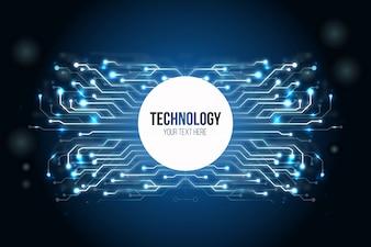 Moderner Technologie-Hintergrund