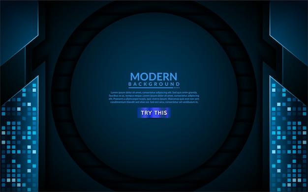 Moderner technologieblauhintergrund