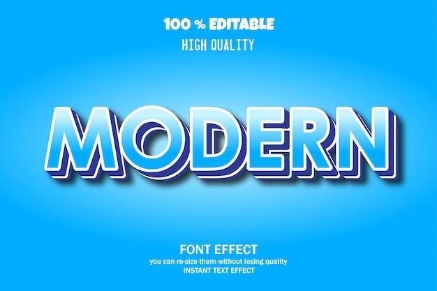 Moderner text, schrifteffekt