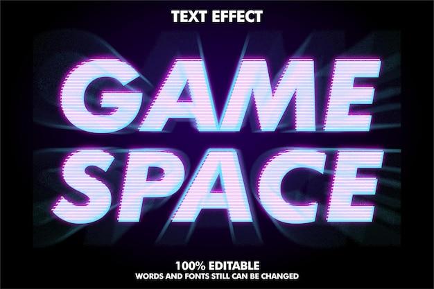 Moderner texteffekt mit zoomeffekt