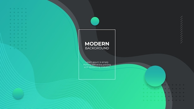 Moderner tosca flüssiger gradientenhintergrund mit kurvigen formen