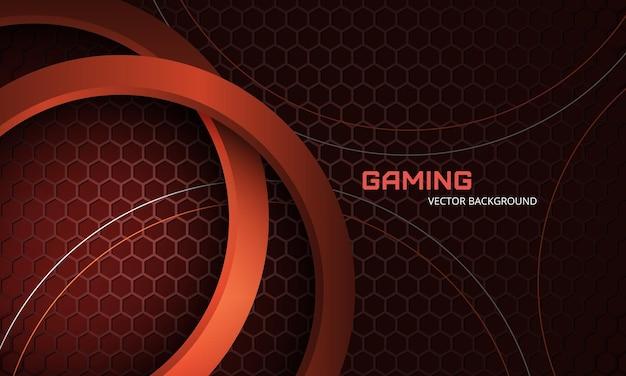Moderner trendiger sportlicher gaming-hintergrund