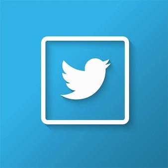 Moderner twitter-hintergrund