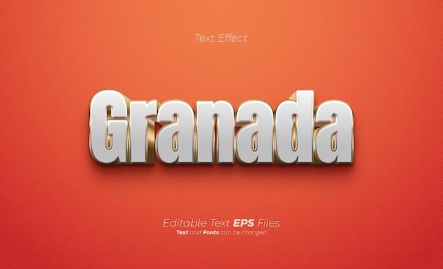 Moderner und eleganter texteffekt auf rotem hintergrund