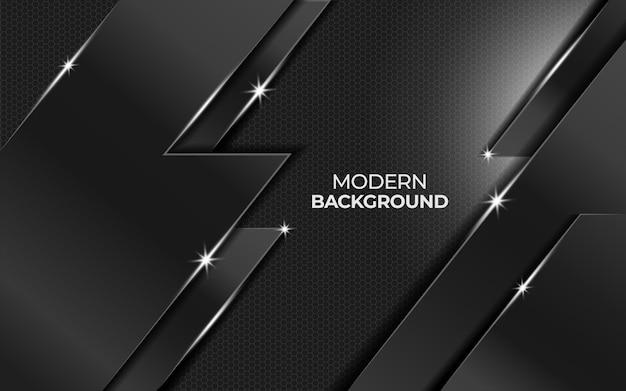 Moderner zukünftiger abstrakter metallhintergrund