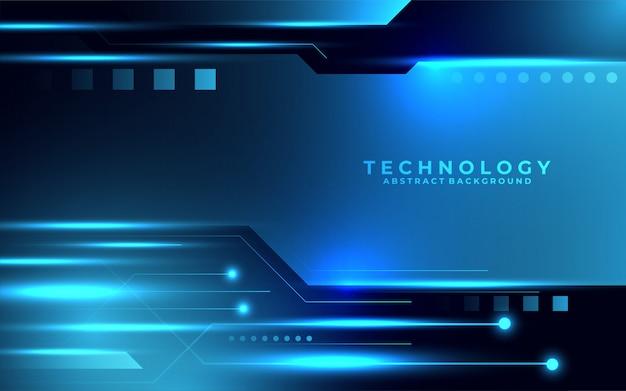 Moderner zukünftiger digitaler technologischer hintergrund