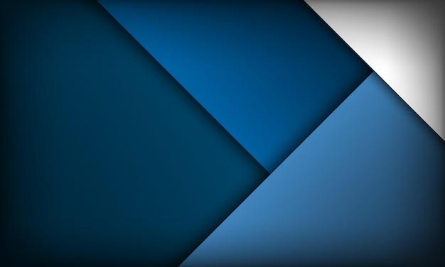 Modernes abstraktes blaues hintergrunddesign