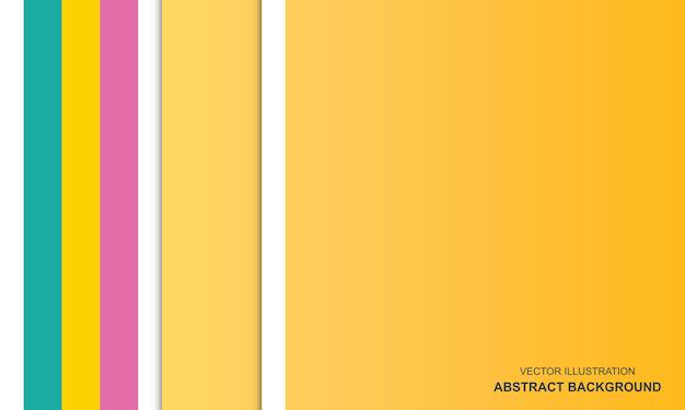 Modernes abstraktes buntes hintergrundkonzept