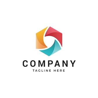 Modernes abstraktes logo oder elementdesign