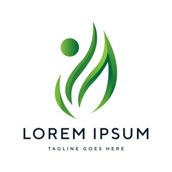 Modernes abstraktes logo