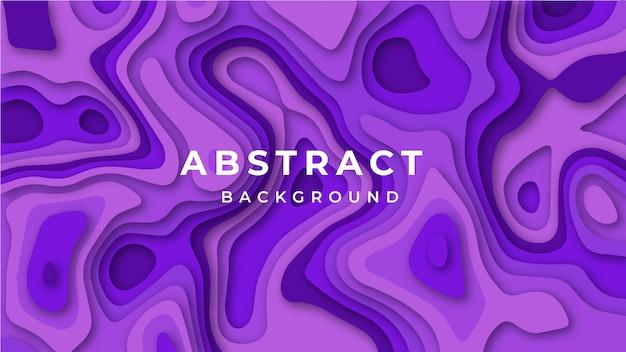 Modernes abstraktes papier schnitt bunten hintergrund