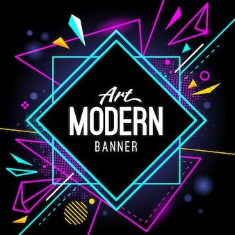 Modernes Banner