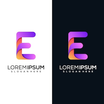 Modernes buchstabe r logo design