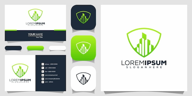 Modernes buchstaben p-logo-design
