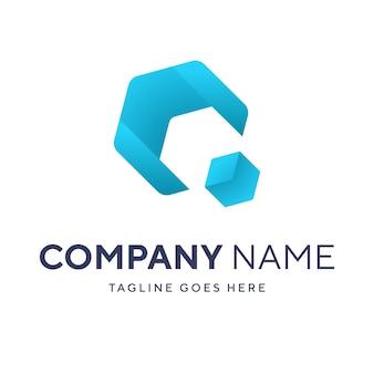 Modernes business-logo