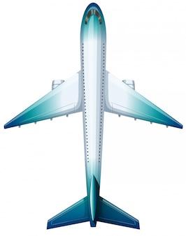 Modernes design des flugzeuges
