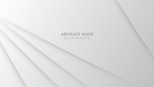 Modernes design des grauen weißen abstrakten hintergrundes