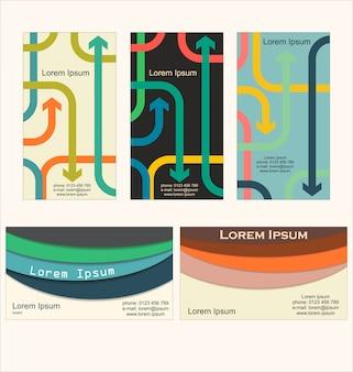 Modernes design-vorlage