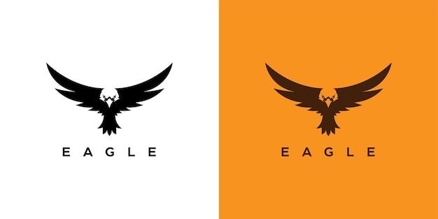 Modernes eagle-logo-design