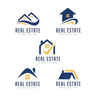 Modernes eigentums-logo
