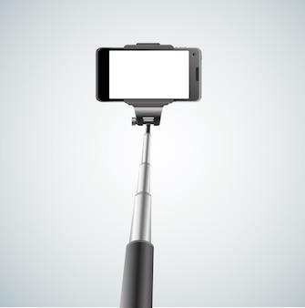 Modernes einbeinstativ selfie