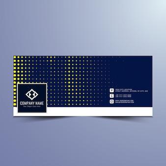 Modernes facebook banner design Kostenlosen Vektoren