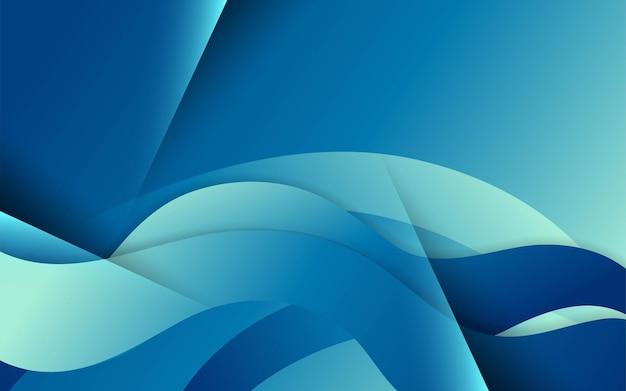Modernes futuristisches wellenform-hintergrunddesign. kann auf postern, bannern, web und mehr verwendet werden.