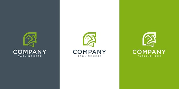 Modernes geld-logo-konzept