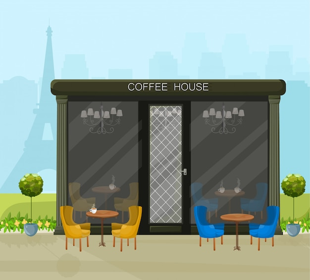 Modernes kaffeehaus