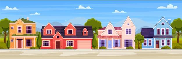 Modernes landhaus-set.