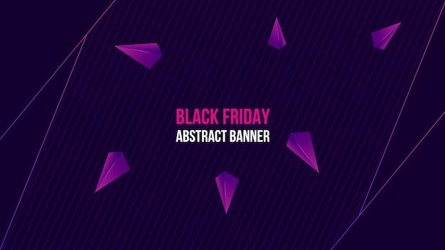 Modernes lila banner