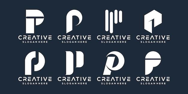 Modernes logo-design des buchstabens