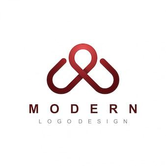 Modernes logo-design für ihr unternehmen