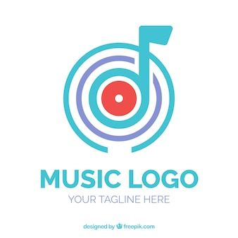 Modernes musiklogo