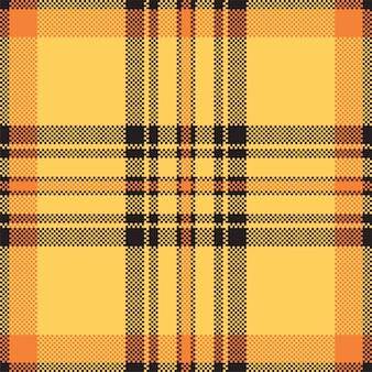 Modernes nahtloses musterplaid. quadratischer texturstoff. tartan schottisches textil. schönheitsfarbe madras ornament.