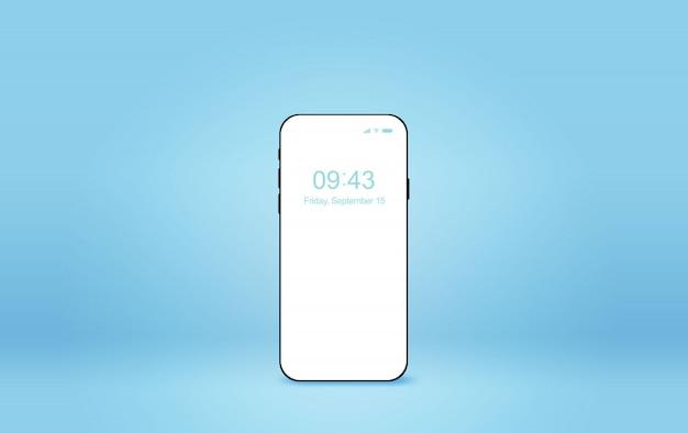 Modernes smartphone-modell.